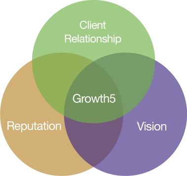 Chart of the three elements of your business that matter to growth